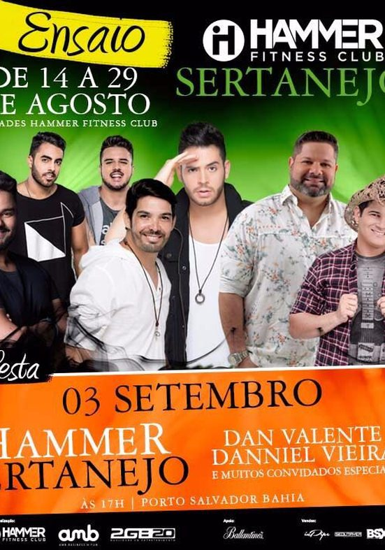 Destaques do sertanejo baiano se encontram no Hammer Sertanejo