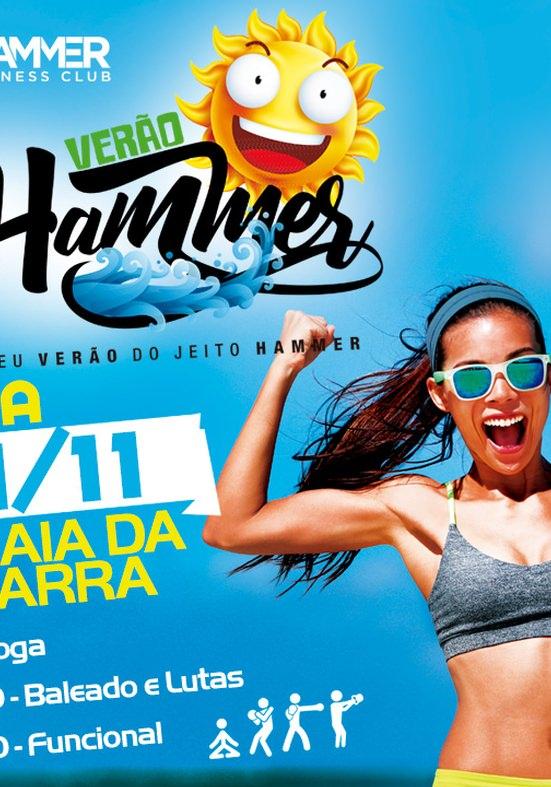 Evento público na Barra marca início do Verão Hammer