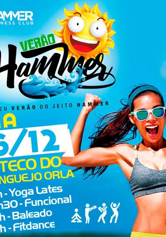 Evento gratuito leva saúde e diversão para a praia de Patamares
