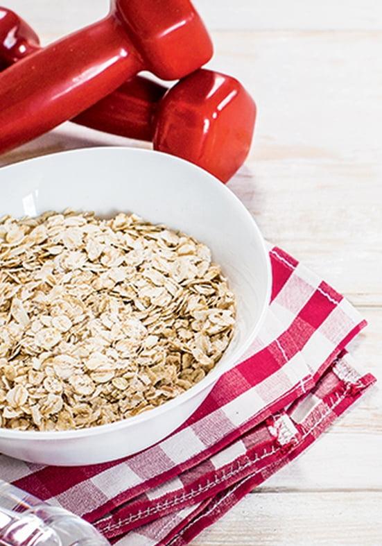 Os benefícios da aveia para o ganho de massa magra