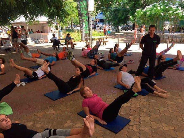 Hammer Fitness Club promove aulas gratuitas no Boa Praça