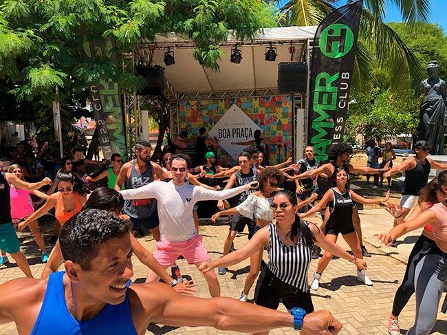 Boa Praça terá aulão de FitDance promovido pela Hammer Fitness Club